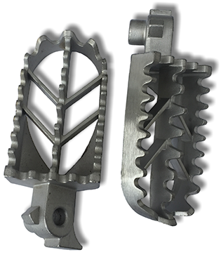 TOP END Machine brand wide 50cc mx footpegs