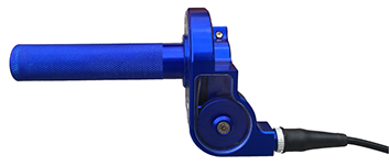 DMF throttle assembly blue