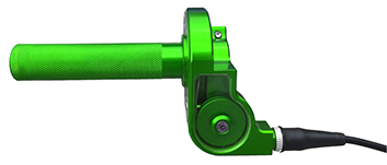 DMF throttle assembly green
