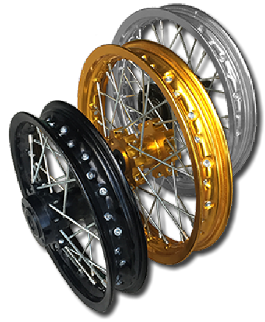 TOP END Machine CNC Alloy rims
